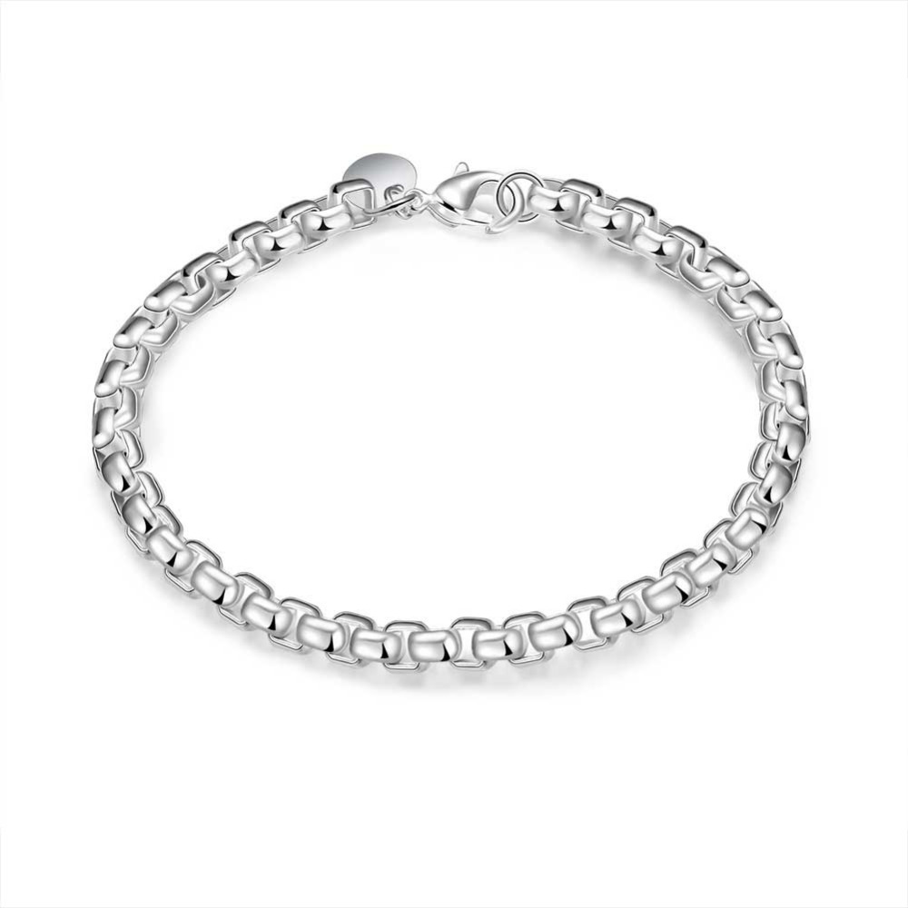 a5382ed3b19c0 2017 new arrivel 925 sterling silver jewelry bracelet fine fashion bracelet  top quality wholesale and retail SMTH157
