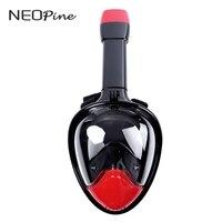 Precio Máscara de buceo de cara completa 180 grados amplia visualización máscaras de buceo silicona líquida CÁMARA DE BUCEO gopro natación snorkel deporte submarino