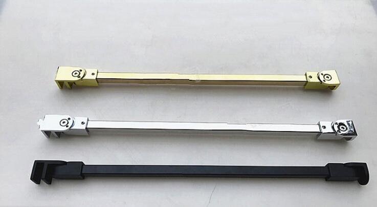 1PCS Stainless Steel Shower Glass Door Fixed Rod/clip,Bathroom Glass Support Bar,length 40/50cm(SJ-3073)