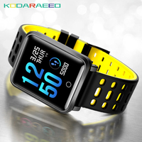 TF2 Smart Watch Blood Pressure Heart Rate tracker SportWatch Pulse Pedometer Bracelet IP68 Waterproof Bluetooth Clock Wristband