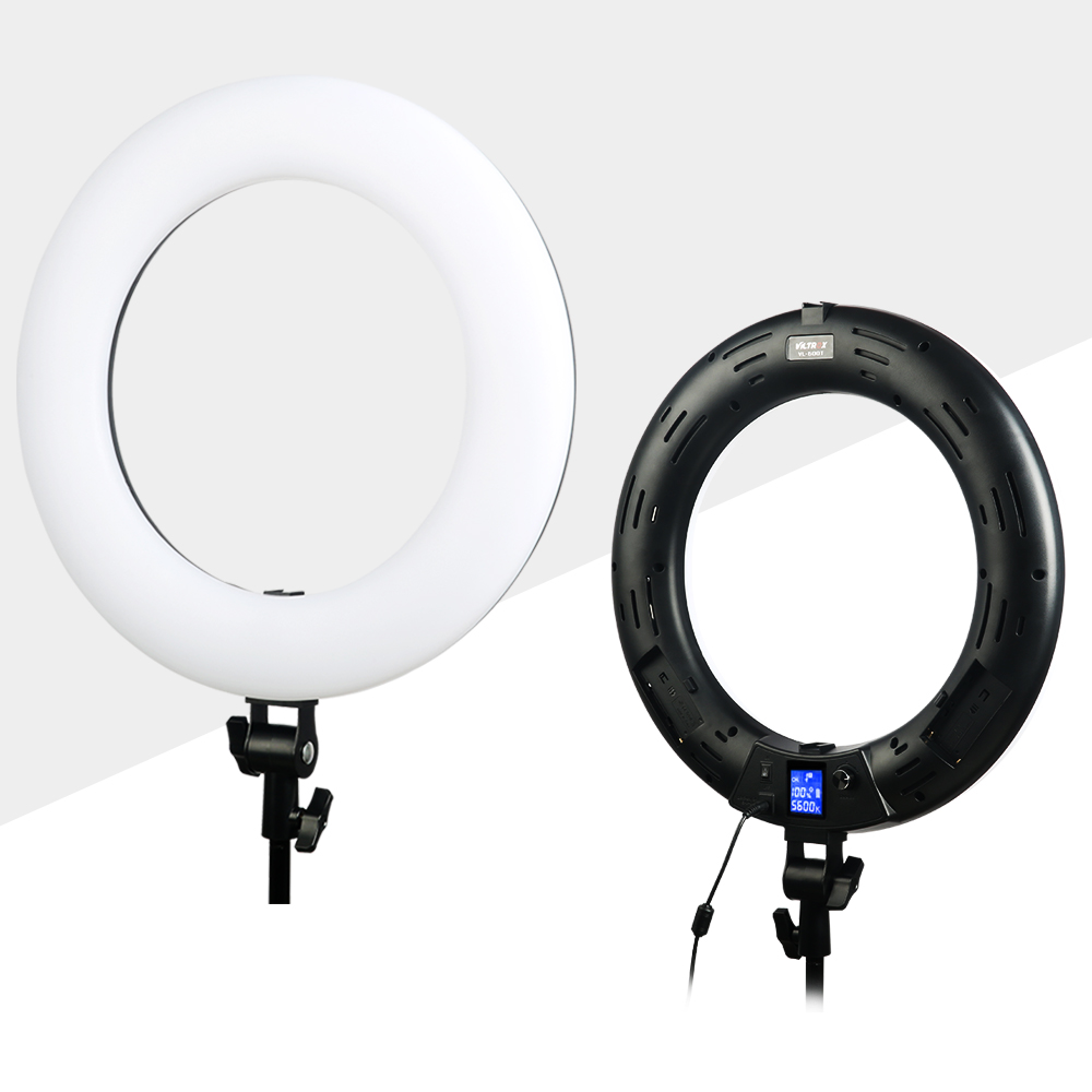Viltrox VL-600T Lampă de iluminat cu LED-uri pentru telecomandă - Camera și fotografia - Fotografie 3