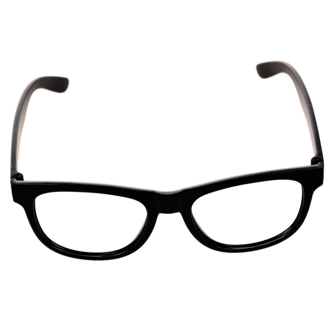 Bergaya Laki laki Perempuan Anak Anak Partai Aksesoris Kacamata Bingkai Ada  Lensa Baru hitam di Kacamata Frame dari Aksesoris Pakaian AliExpress.com ... e35e9afacc