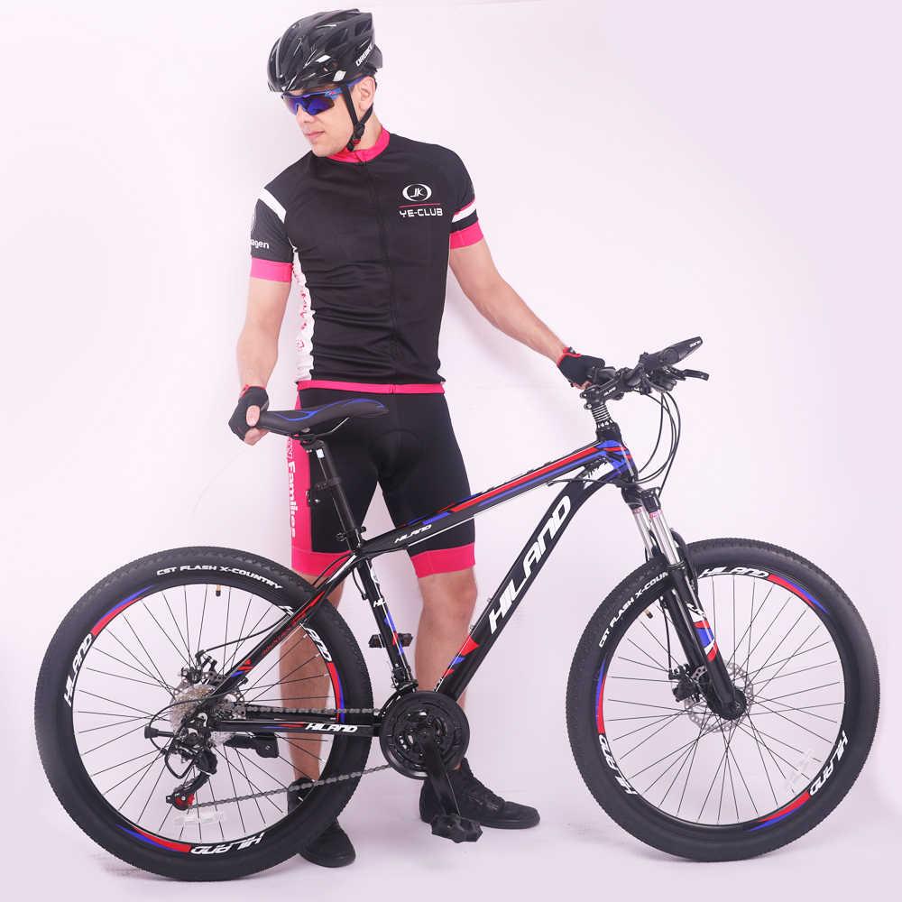 26 ''Треугольная рама подвески горного велосипеда из алюминиевого сплава с двойным диском для велосипеда с Shimano Derailleur и CST Шины Бесплатная доставка