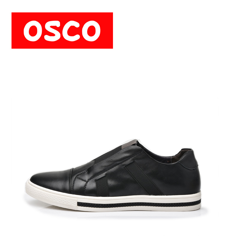 OSCO ALL SEASON New Men Shoes Fashion Men Casual COW LEATHER Shoes#A2502 пена монтажная mastertex all season 750 pro всесезонная