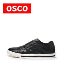 Оско всесезонные Новая мужская обувь модные Для мужчин Повседневное из коровьей кожи Обувь # A2502