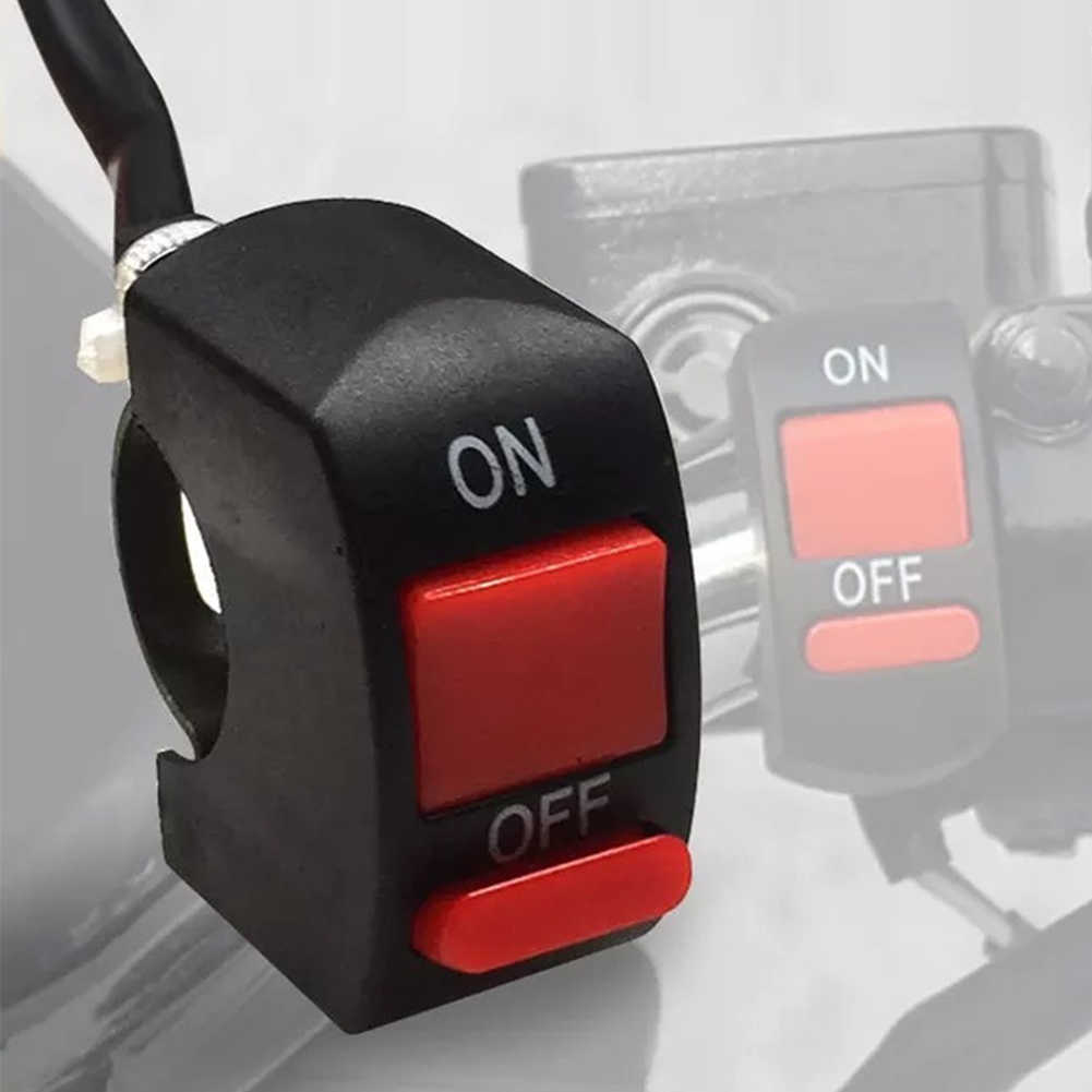Accessories Universal ON/OFF Switch Handle Tuning Part Waterproof Button Mount Motorcycle For U5  U2 LED Headlight