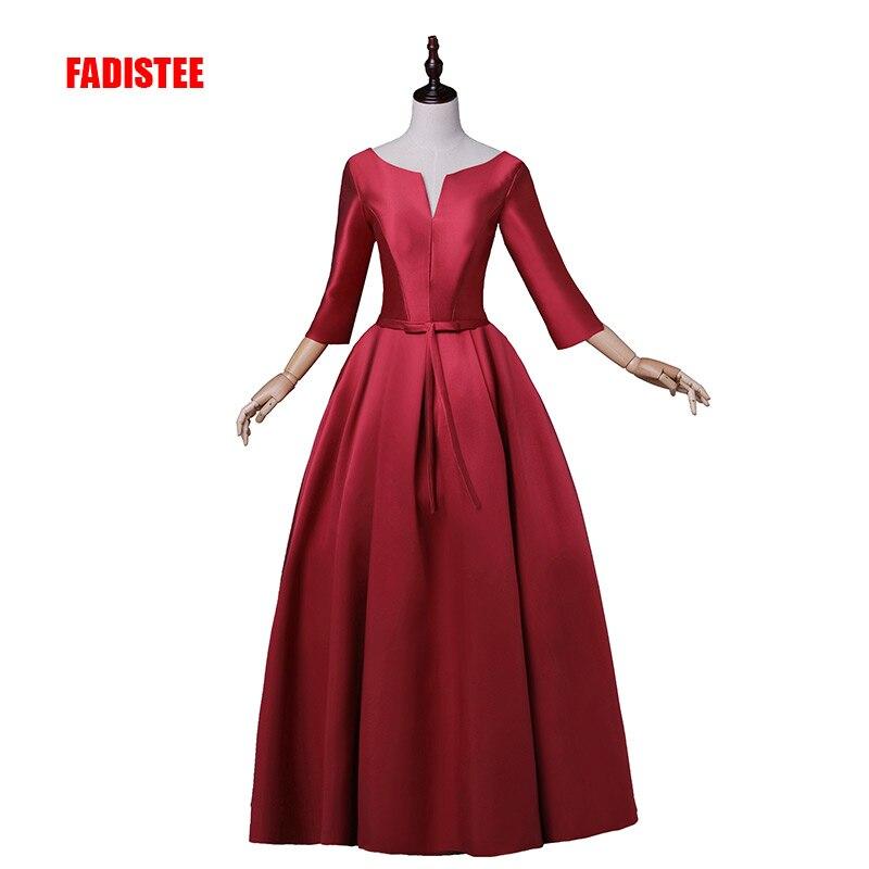 FADISTEE nouveauté robes de bal élégantes robe de soirée en satin de haute qualité