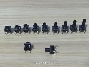 Image 2 - Бесплатная доставка 1000 шт. 6X6X8 DIP тактильный мини кнопочный переключатель Микро Переключатель мгновенный 6*6*8 мм
