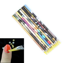 1pcs Nail Art Wax Pen Nail Beads Rhinestones Picker Pencil Gem Crystal Pick Up Tool For Beauty Nail Art Dotting Tools