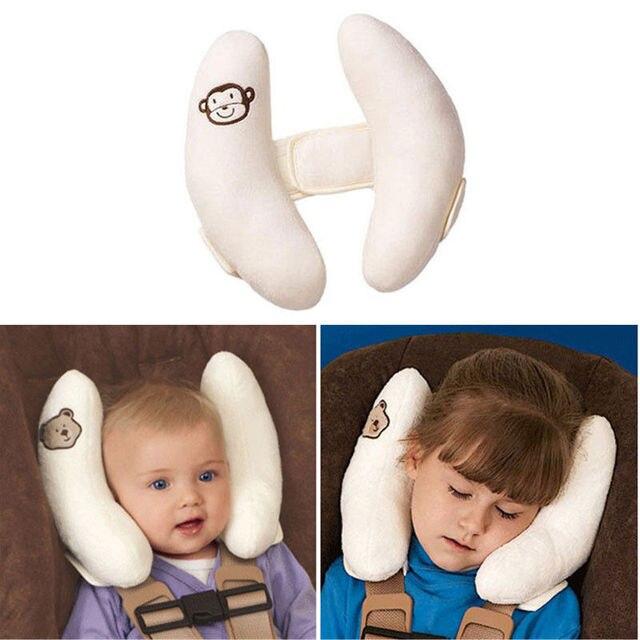 Newborn Baby Infant Support Sleeping Positioner Memory Pillow Car Seat Headrest U Shape