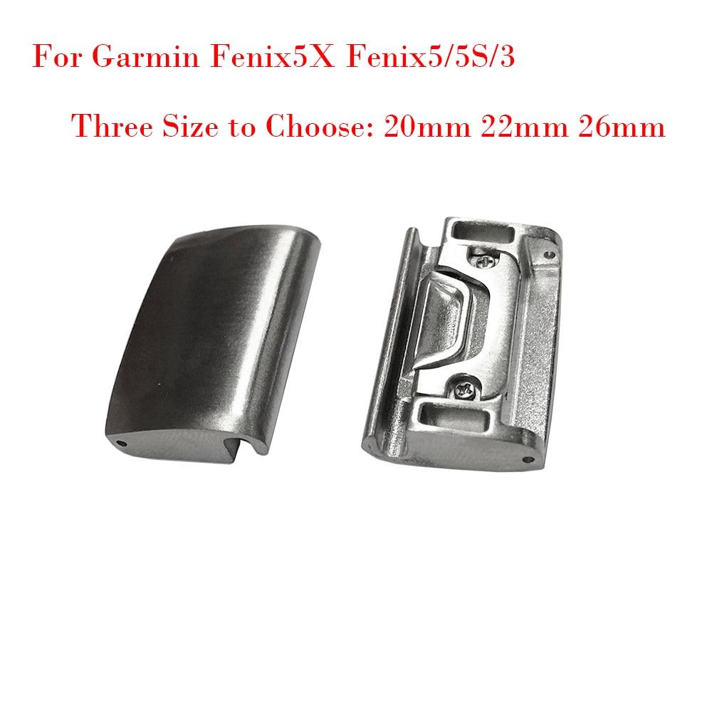 20 22 26MM Generisches Metall Uhr Band Adapter für Garmin Fenix5X/Fenix5/5S/3 Alle modelle Für QuickFit Einfach Fit Schnalle Verbindung