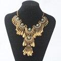 2017 new Femme bijoux maxi Statement Necklace & Pendants women Gypsy Vintage Choker Collar bohemian necklace women fine jewelry