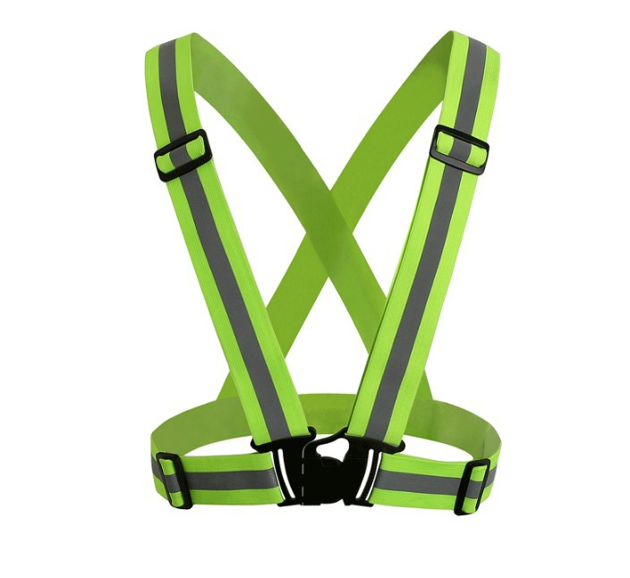 High Visibility Safety Vest Reflective Belt Safety Vest Outdoor Clothes For Construction Traffic Visibility Security Jacket