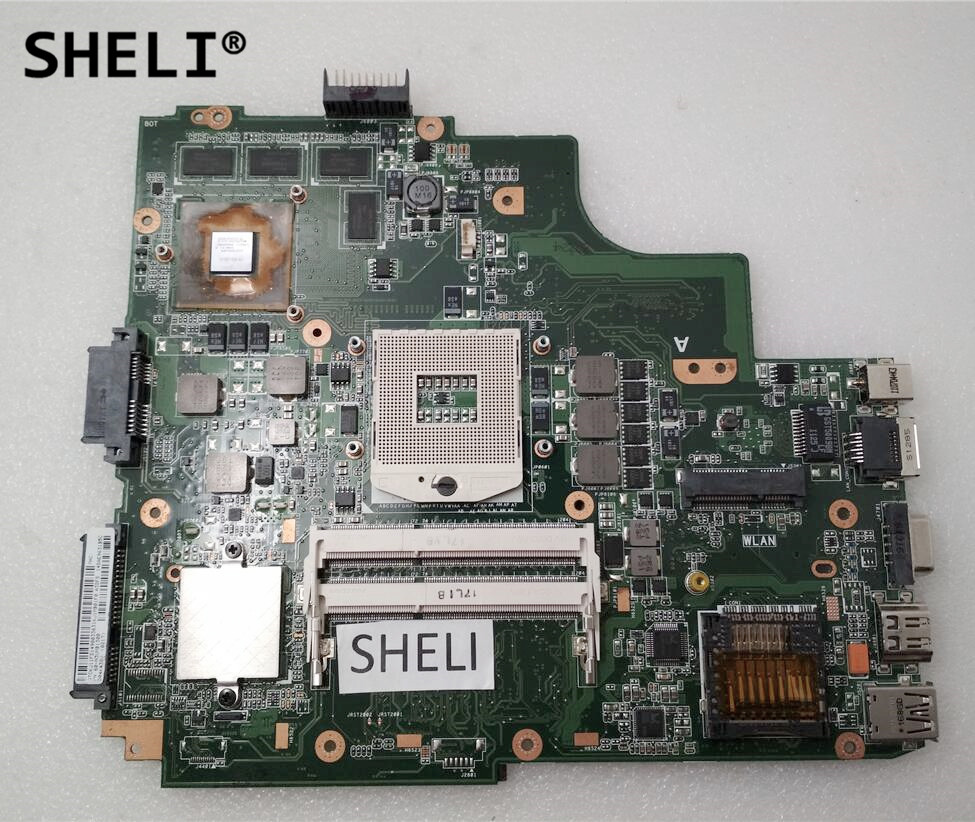 Sheli For Asus K43sv Rev 3 0 Motherboard With Gt540m Video