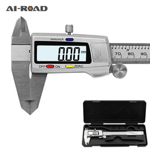цена на 6 150mm Measuring Tool Stainless Steel Digital Caliper Messschieber Paquimetro Measuring Instrument Vernier Calipers