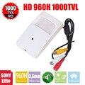 Vanxse cctv 1/3 sony effio-e 960 h 1000tvl mini indoor câmera de segurança câmera de vigilância de áudio com mic microfone