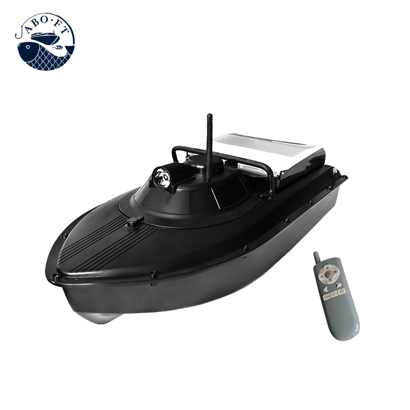 Free shipping JABO-2AL 32A updated battery carp rc fishing bait boat free shipping factory price catamaran hull jabo 5a long distance two hoppers rc bait boat for releasing hook