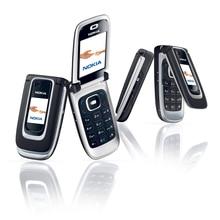 هاتف نوكيا 6131 الأصلي المجدد 2G GSM هاتف غير مقفول هاتف انجليزي عربي عبري روسي لوحة مفاتيح
