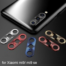 Camera Lens Protective Ring Case For Xiaomi Mi9 SE MIX 3 Redmi Note 7Pro Metal Mobile Phone Protector Cover