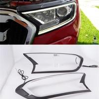 LED DRL for Ford ranger/Everest accessories car light brow headlamp headlight cover daytime running light 2015 20 2017 2018