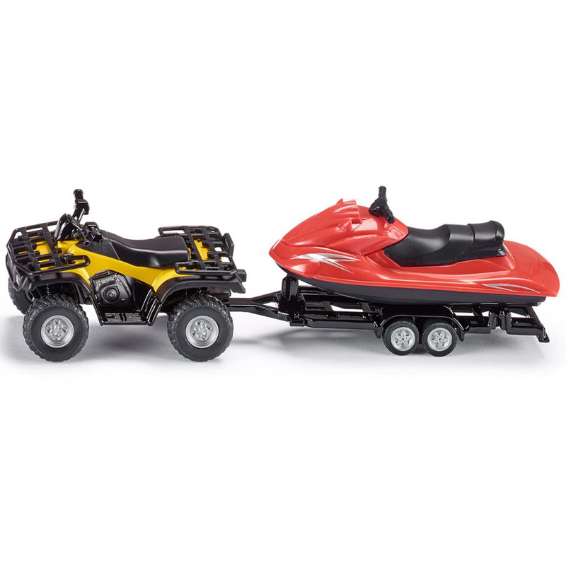SIKU 1 50 Alloy Dune Buggy Car Toy Simulation Jet Ski Boat Motorboat