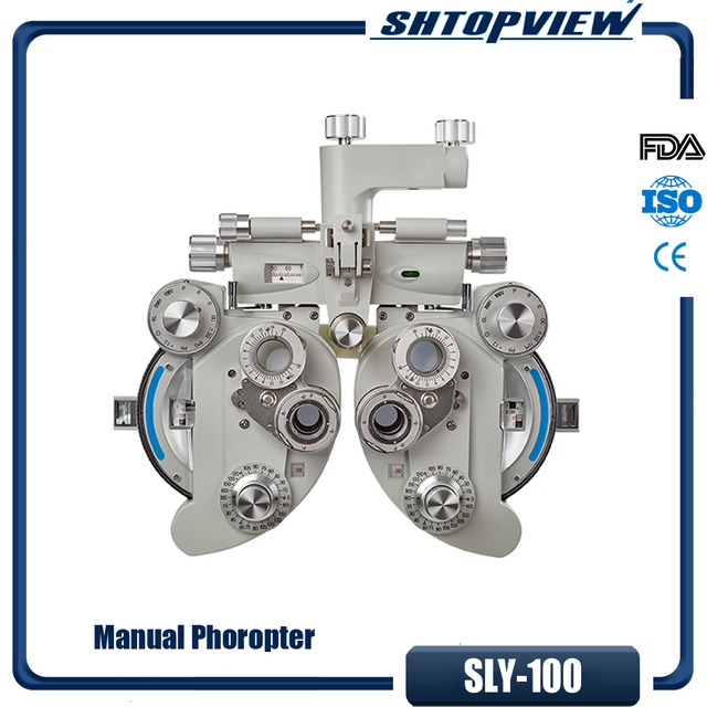 US $1233 78 |new limited thermal optics ipl filter ophthalmic equipment  wholesale sly100 manual phoropter for vision tester ce fda iso-in  Instrument