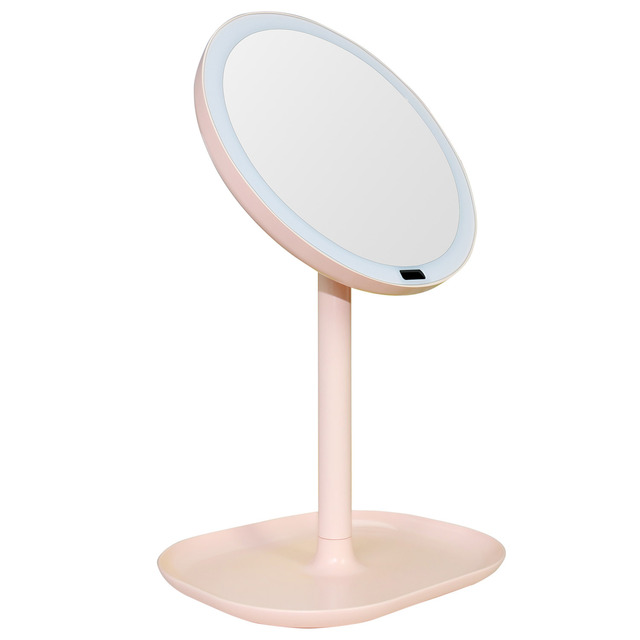 Rechargeable Motion Sensor Light Mirror Led Makeup Rotation Infrared Induction Battery Operated Or
