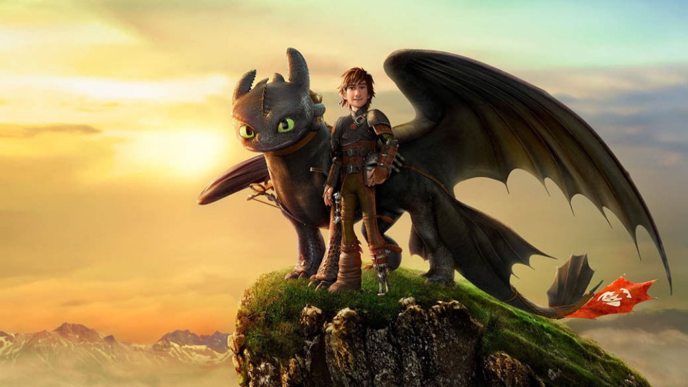 How To Train Your Dragon Hot Movie Silk Poster Art Bedroom Decoration 0342 China