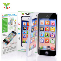 Kid Toy Cellphone With LED Y Phone English Learning Mobile Phone Baby Mobile Early Educational Learning