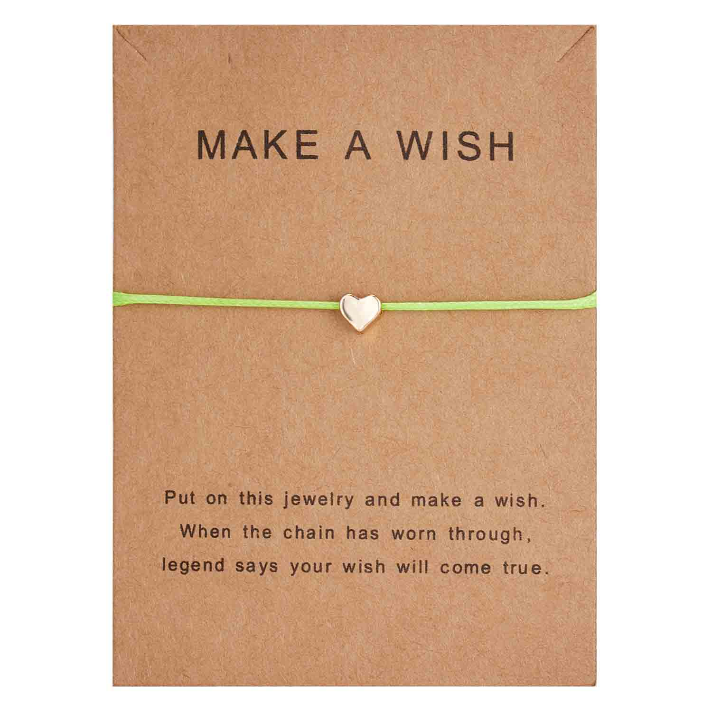 Rinhoo модный тканый регулируемый браслет с картой Бесконечность любовь Золотая Корона Звезда очаровательный браслет для девочек ювелирные изделия Прямая - Окраска металла: 5