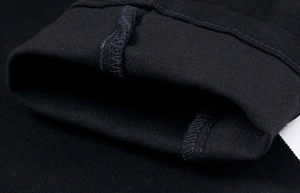 Image 4 - Estilo coreano legal calças do punk dos homens da forma com zíperes de couro preto cor apertado skenny mais tamanho 33 34 36 calças de rocha