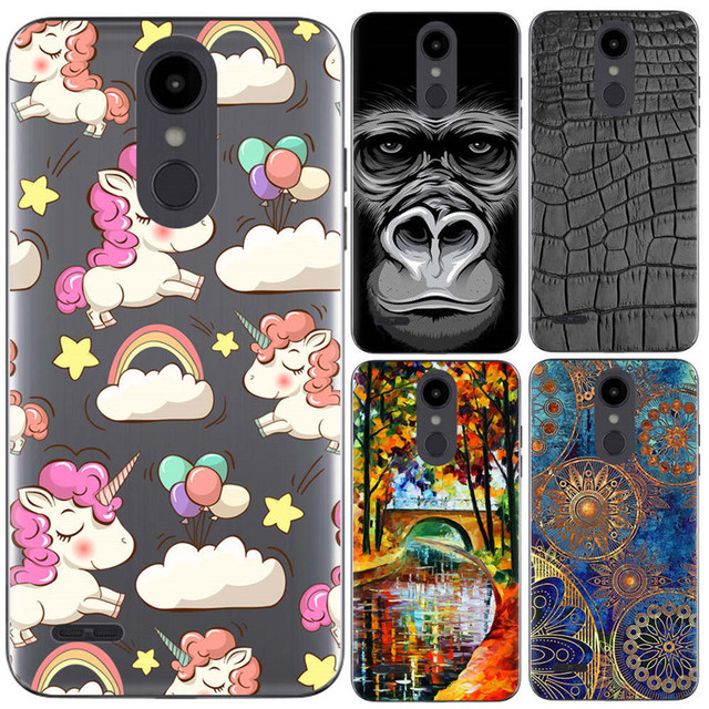 release date 9caad 3d7bf US $3.75 |For LG Aristo 2 Case Pudding Silicone Case New Cool Colorful  Painted Cartoon Clear Full Cover For LG Aristo2 For Metro PCS (L102-in  Fitted ...