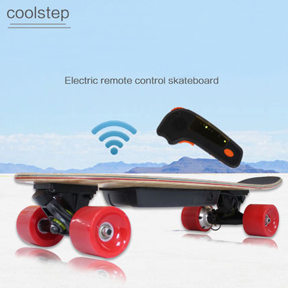 Electric Skateboard Skate Board Canadian Maple Longboard 4 Wheels Electric Scooter Hoverboard Durable Deck 68*19cm Cruiser Plate