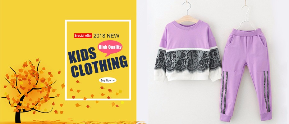 Vêtements pour enfants 2018 Automne Hiver Filles 1