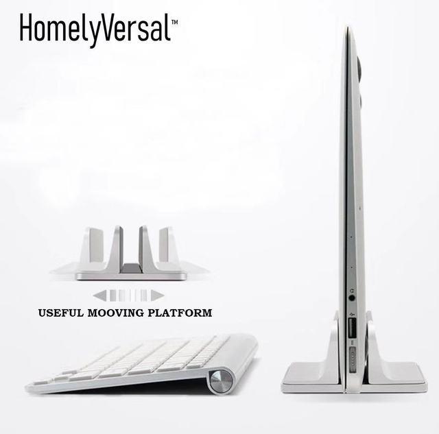 מחשב נייד מחזיק מתכוונן אנכי Stand ספר stand שטח חיסכון שולחן העבודה הר Stand Pad עבור Apple MacBook Lenovo Dell