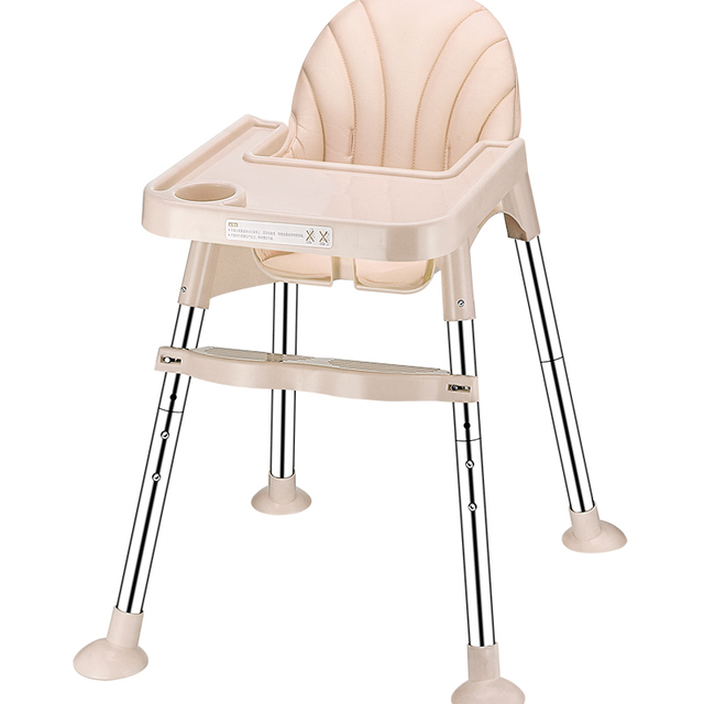 Baby Chair Seat Booster Portable Folding Adjule High Feeding Infant Children