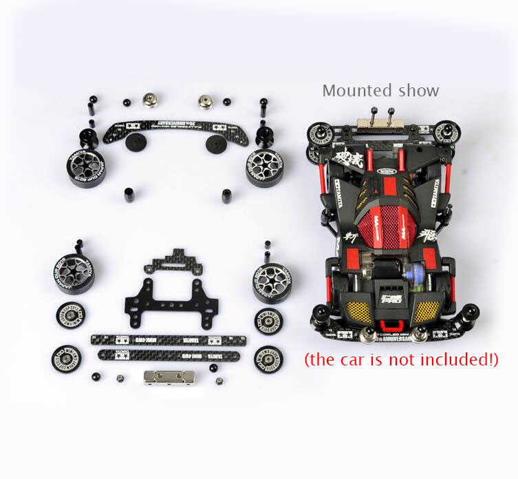 цена на Free Shipping FM Chassis Modify Parts For Tamiya MINI 4WD Car Model
