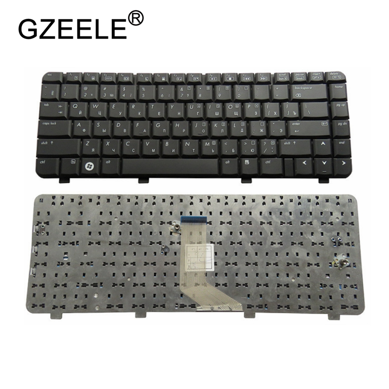 GZEELE Russian laptop Keyboard for HP 6720S 550 540 541 RU laptop keyboard BLACK цена