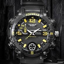 Men'S Smart Watch Sport Camera Watch FOX9C HD Video Voice Recording IPX7 Waterproof Led Lighting Watch 32g 16g Magnetic Charging