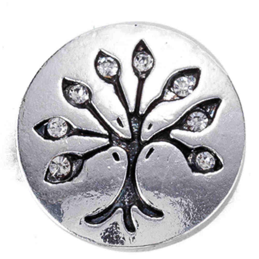 Snap nút 18 mét kim loại snaps cho snaps vòng đeo tay phù hợp gừng snaps đồ trang sức cây snap với thạch TZ9103
