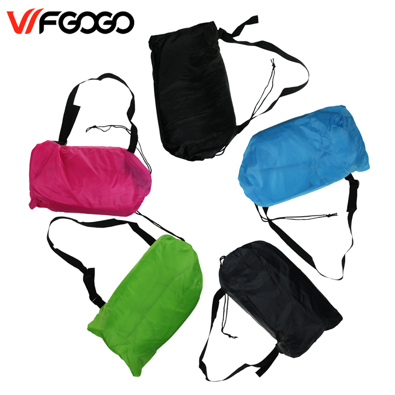 WFGOGO Lazy <font><b>bag</b></font> Fast Inflatable Sofa Outdoor Air Sofa Sleeping <font><b>bag</b></font> Couch Portable Furniture Living Room Sofas for Summer Campin