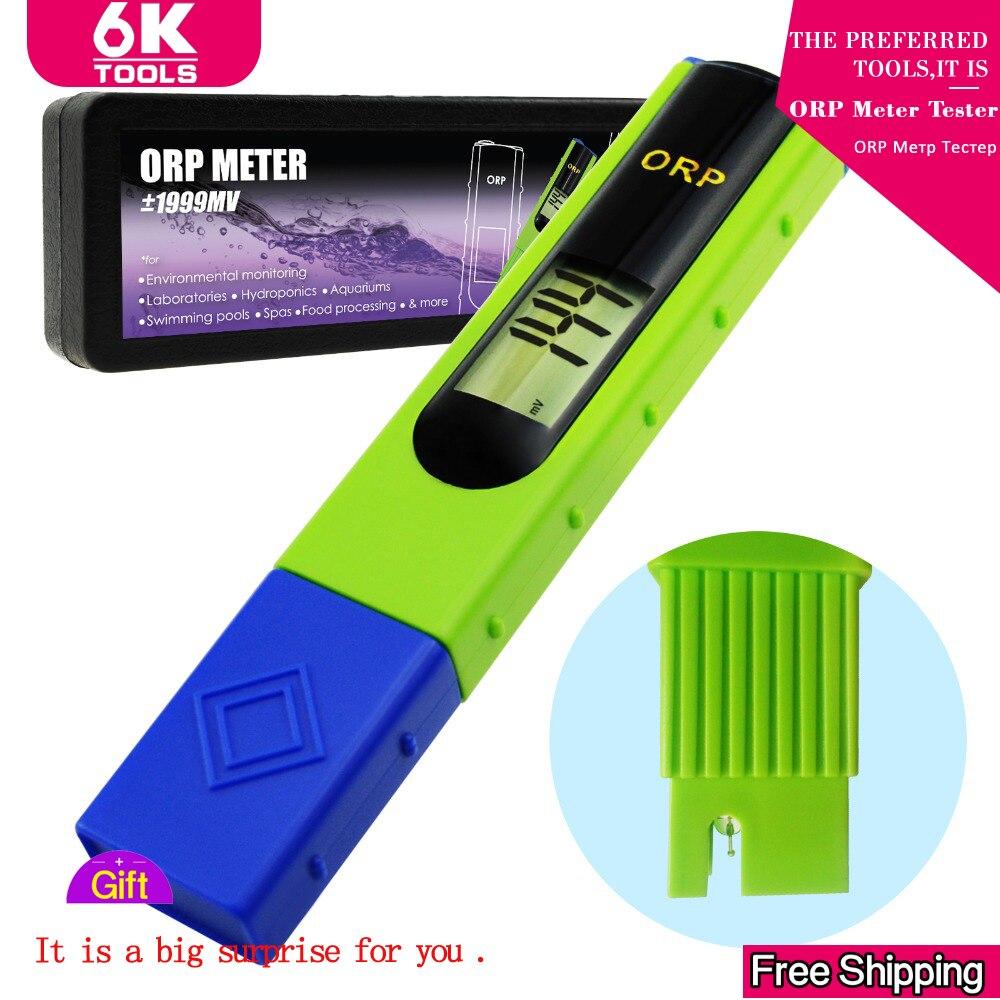 Medidor de ORP Tester-1999 ~ 1999mV 1-ponto de Calibração Potencial de Redução de Oxidação Da Água Controlador de Orp Testador Piscinas redox