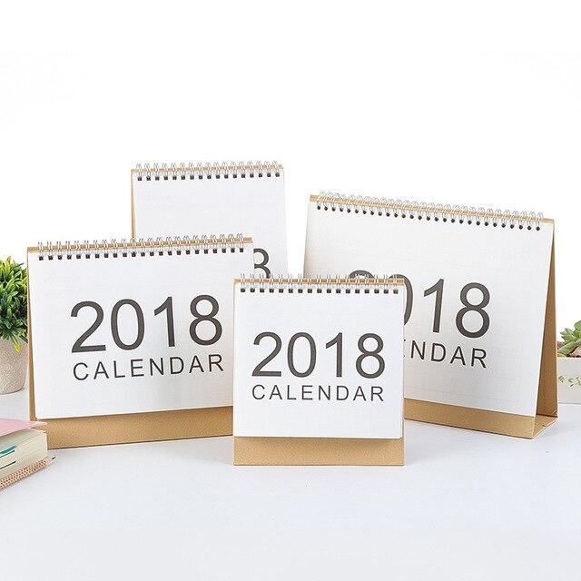 Diy Table Calendar : Simple style desk calendar diy hand painted memorial