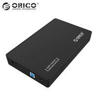 Original Orico 3 5 Hard Disk Drive Enclosure With EU Plug 8TB Capacity HDD SSD Disk