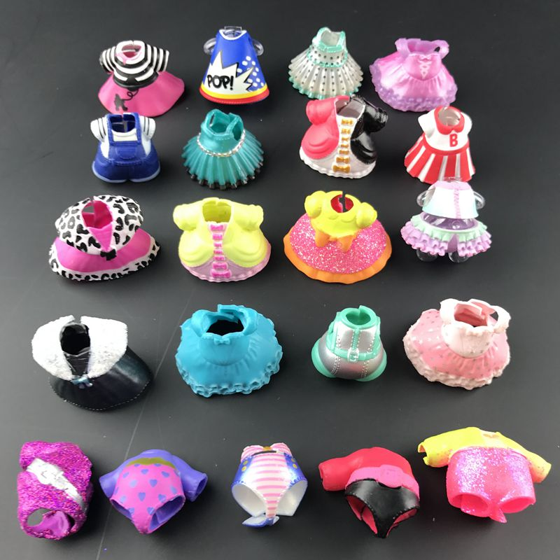 Series3/4/5 Original Beautiful Doll Clothes For DIY LoLs Big Doll Figure Toy Accessories Toy Decorations Products