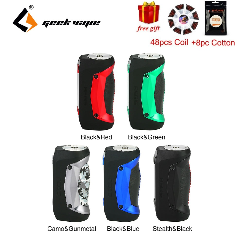 Free gift Geekvape Aegis Mini Mod 80W with Built in 2200mah Battery for Geekvape Cerberus Tank