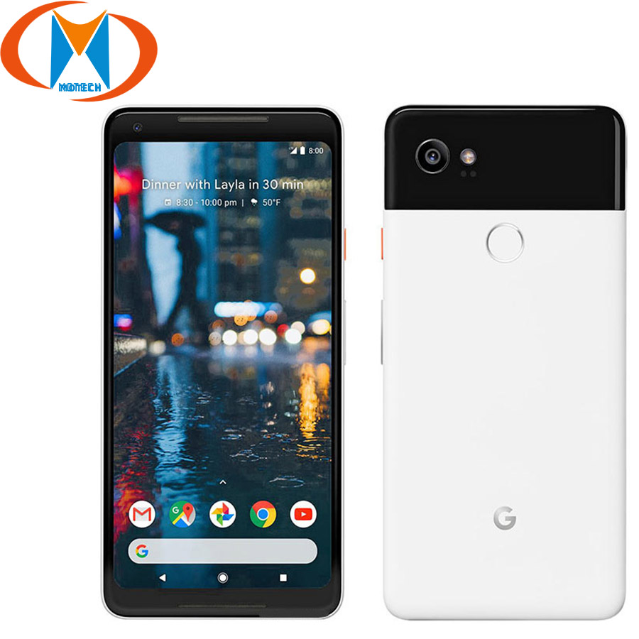 Brand New Original Google Pixel 2 XL EU Version Mobile Phone 6 Snapdragon 835 Octa Core 4GB 128GB Fingerprint NFC Smartphone image