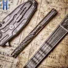 Tactical Pen Carbon Fiber Titanium Alloy Self-defense Defense Pen Attack Survival EDC Survival Pen - DISCOUNT ITEM  10% OFF Tools