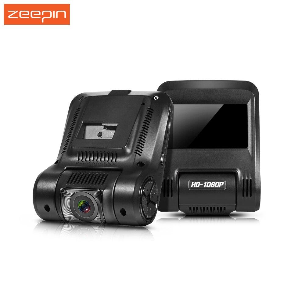 Zeepin Escondida DVR Traço Cam 1080 P FHD Novatek 96658 2.45 Polegada 170 Wide Angle Recorder Com Wi-fi WDR Noite Atirar Câmera Universal