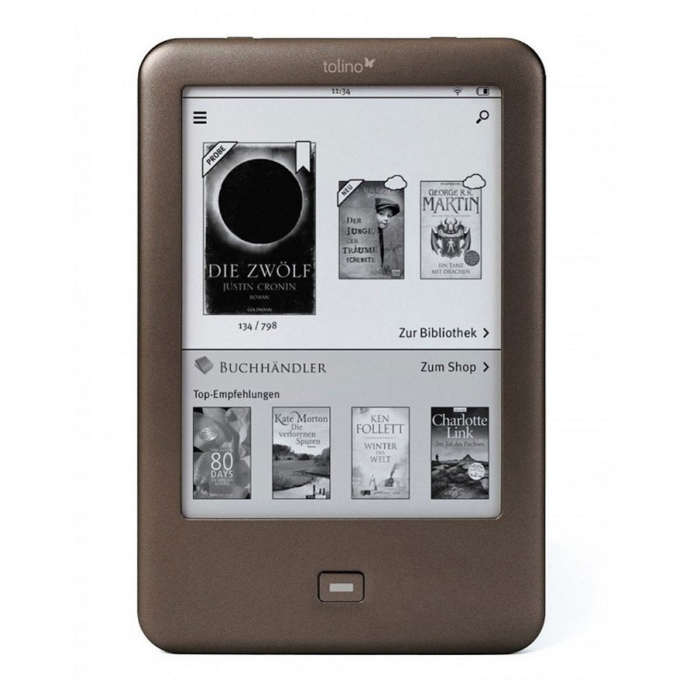 Tolino Shine eBook Reader WiFi 6 inch Whole 4GB eReader